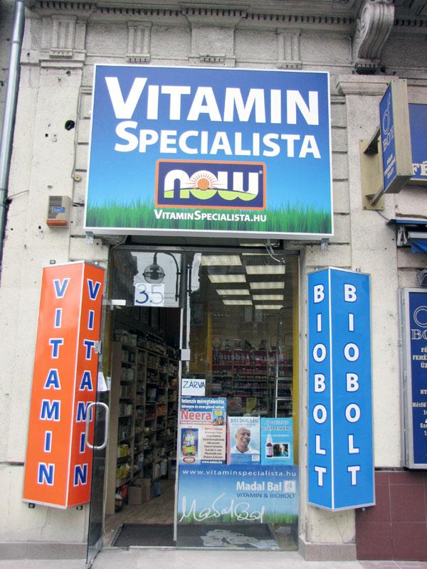 vitamin és biobolt budapest